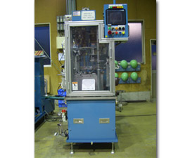 Washing & Cage Assy. Insp. Machine